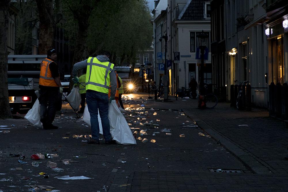 Koningsdag in Utrecht; welke helden ruimen de chaos op na Koningsnacht?