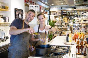 Bedrijfsfotograaf, portret van Bij ons in de Keuken in Houten
