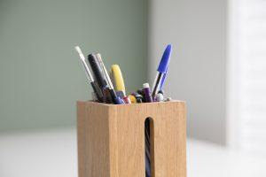 Bedrijfsfotogafie reportage brandingbureau ontwerpbureau potloden in bakje