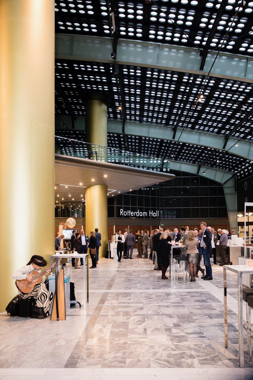 Bedrijfsfotografie bij Bouwstenen congres in WTC Rotterdam