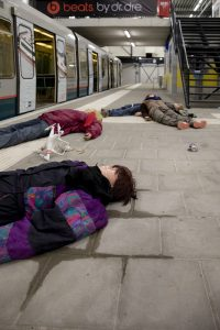 Slachtoffers naast gifgas op metrostation