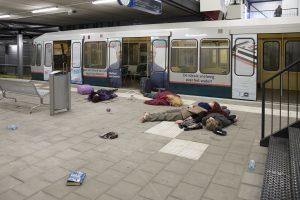 Slachtoffers gifgasaanslag op metrostation