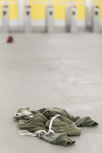 Achtergelaten kledingstuk